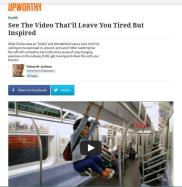 Upworthy | Health Feature | February 6, 2013