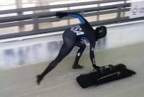 Olympic Skeleton Training