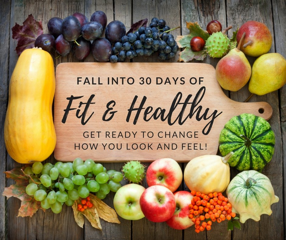 Fall into 30 Days of Fit and Healthy