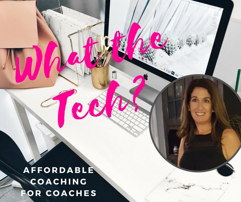 What the Tech: Coaching for Coaches