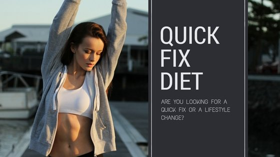 Looking for a Quick Fix Diet?