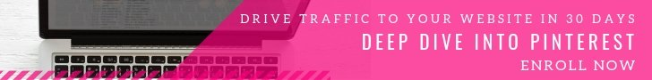 Generate traffic using Pinterest