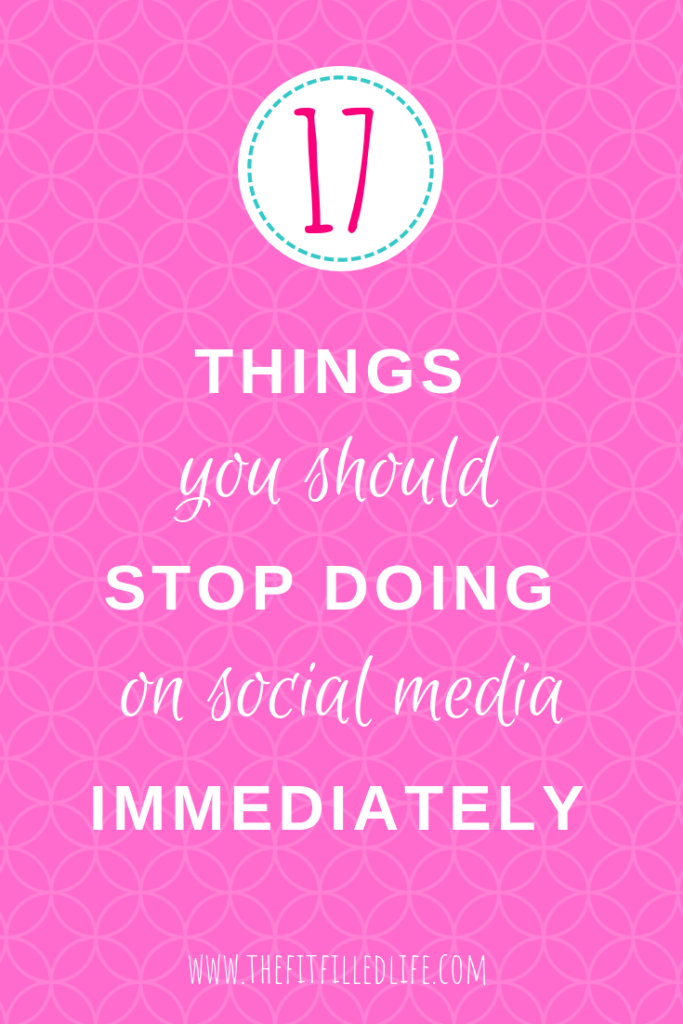 Social media can be a great way to grow your business and drive traffic to your website when done correctly. With so much information out there, it can be overwhelming to know what to do. But I think we can all agree that there a some things that we should just not do ever. If you are serious about stepping up your social media game, I'd advise you not to.