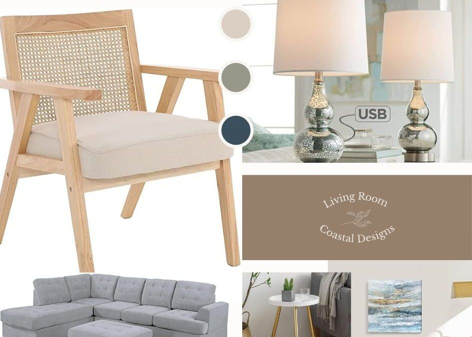 New Inspiration for Coastal Living Room