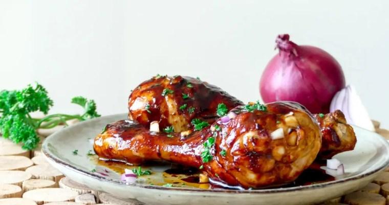 Sticky chicken, maar dan gezond(er)