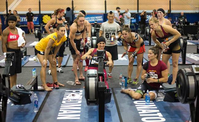 Oh Row Is Me Inspired By Crossfit Games To Row 21 097m