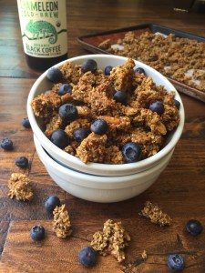 Coffee Crunch Granola 2 (GF, DF, V, VF, Refined Sugar Free)