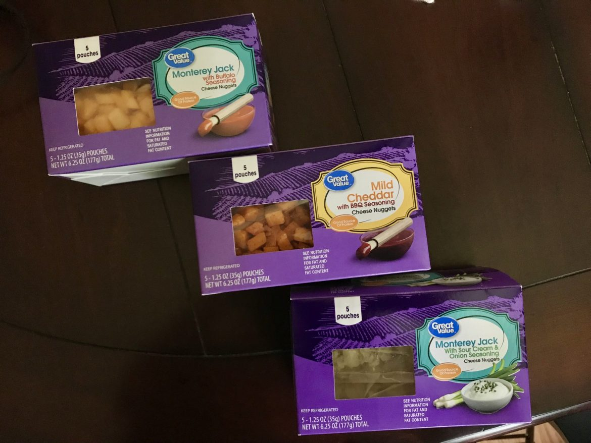 walmart low carb snacks cheese nuggets