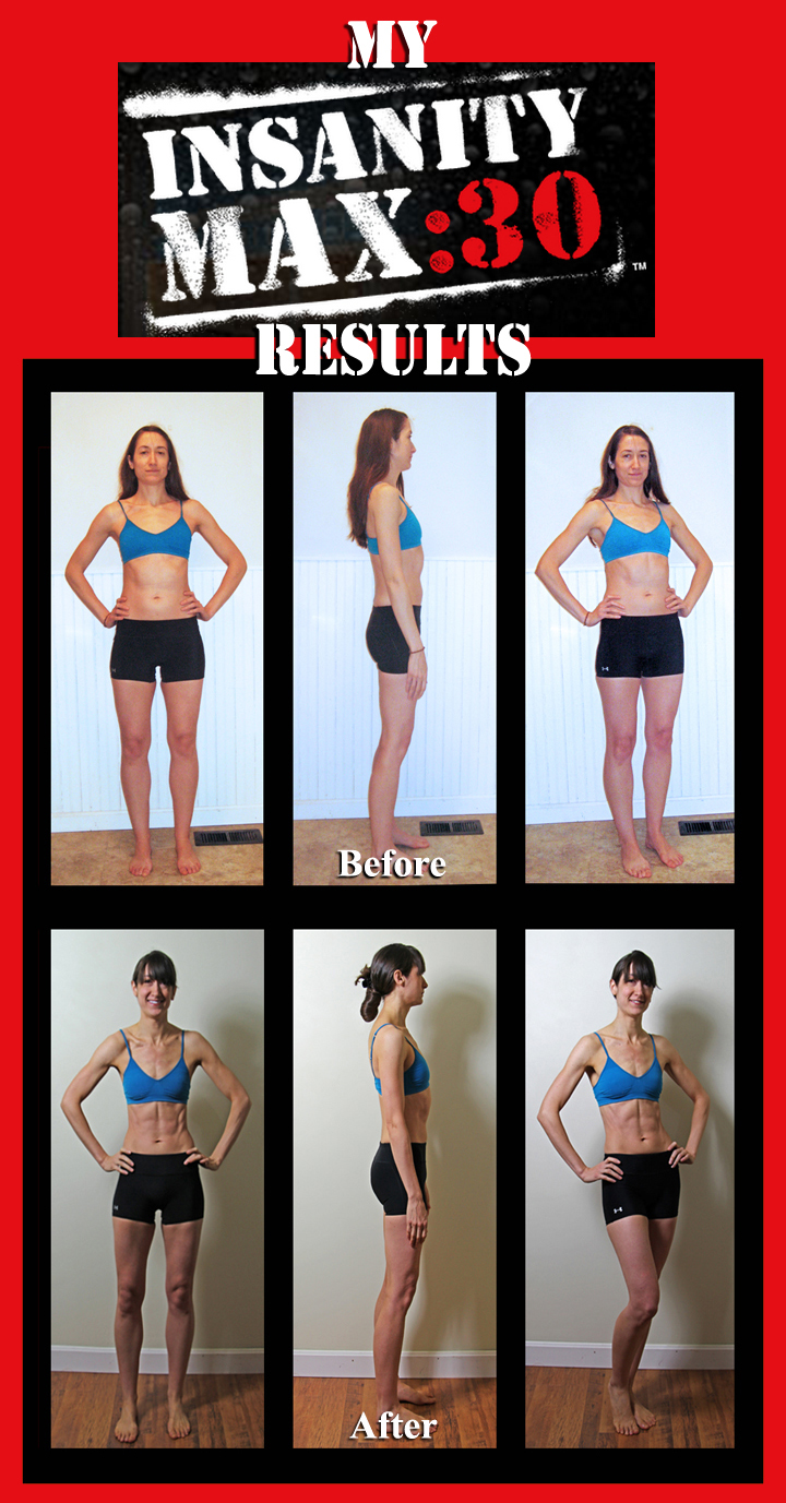 Insanity Workout Before And After : insanity, workout, before, after, INSANITY, MAX:30, After, Results