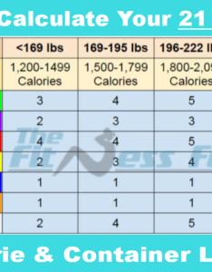 also how to calculate your day fix calorie and container level rh thefitnessfocus