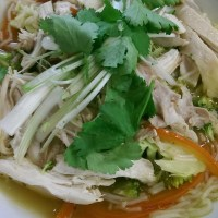 Asian-Style Chicken Noodle Soup (Pho)