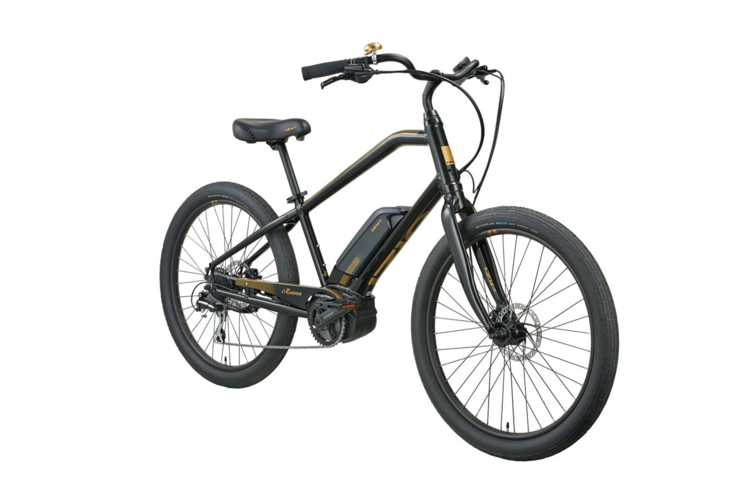 Izip E3 Zuma Luxe Step Over Electric Bike In Black At The