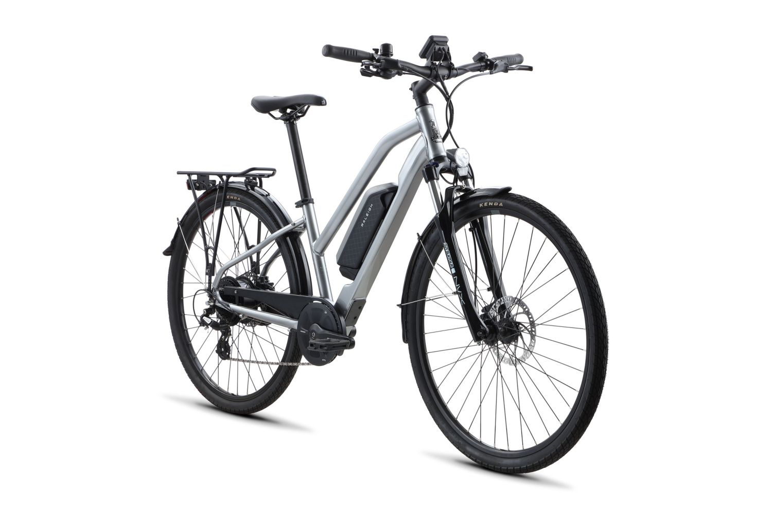 Raleigh Misceo Ie Low Step Electric Bike In Silver