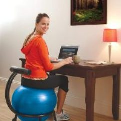 Yoga Ball Chair Reviews Paris Side Wellfit Aligned And Strong For 2019 The Fitness Gaiam Adjustable Custom Fit Balance