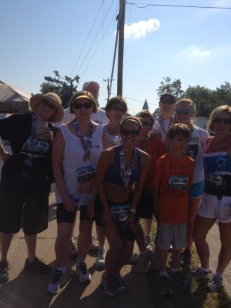 Family Photo Deltaville 5k 2012