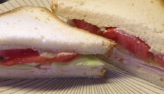 Turkey Sandwich, Gluten Free Bread