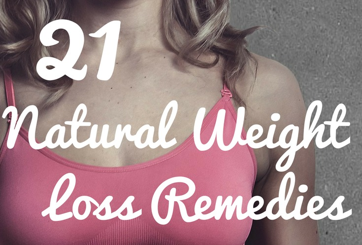 21 weight loss remedies