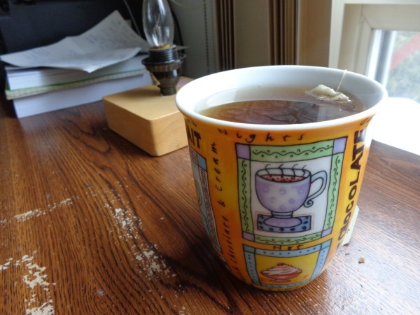 Blueberry tea.