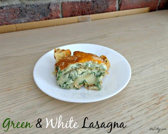 Green and White Lasagna