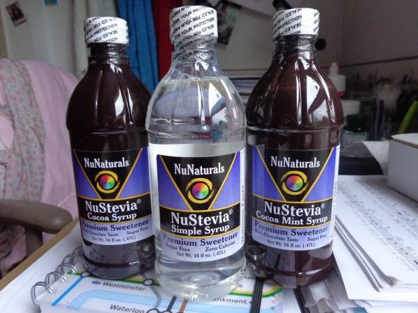 nunaturals syrups