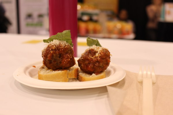 toronto green living show 2017 meatballs