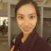 backstage show Y3 selfie