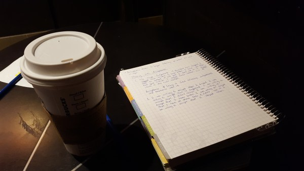 starbucks journal and coffee
