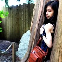 Vancouver, selfie, tree, hollow