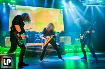 Megadeth at City National Civic in San Jose, CA. Photo by Clay Lancaster.