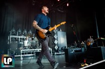 Dustin Kensrue performs with Thrice at Concord Pavilion