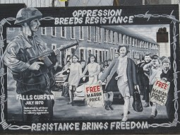 Belfast - Oppression breed resistance resistance brings freedom