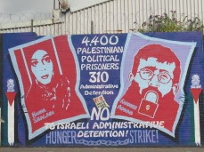 "Belfast - ""No to Israeli administrative detention"""