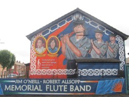 """Belfast - """"O'Neall Allsop Memorial flute band"""""""
