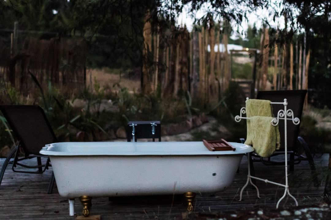 Walk through the Kissing Gate into your own bit of paradise. This unique, luxurious glamping experience with two vintage caravans is bound to astound you. Read more at www.thefivefoottraveler.com