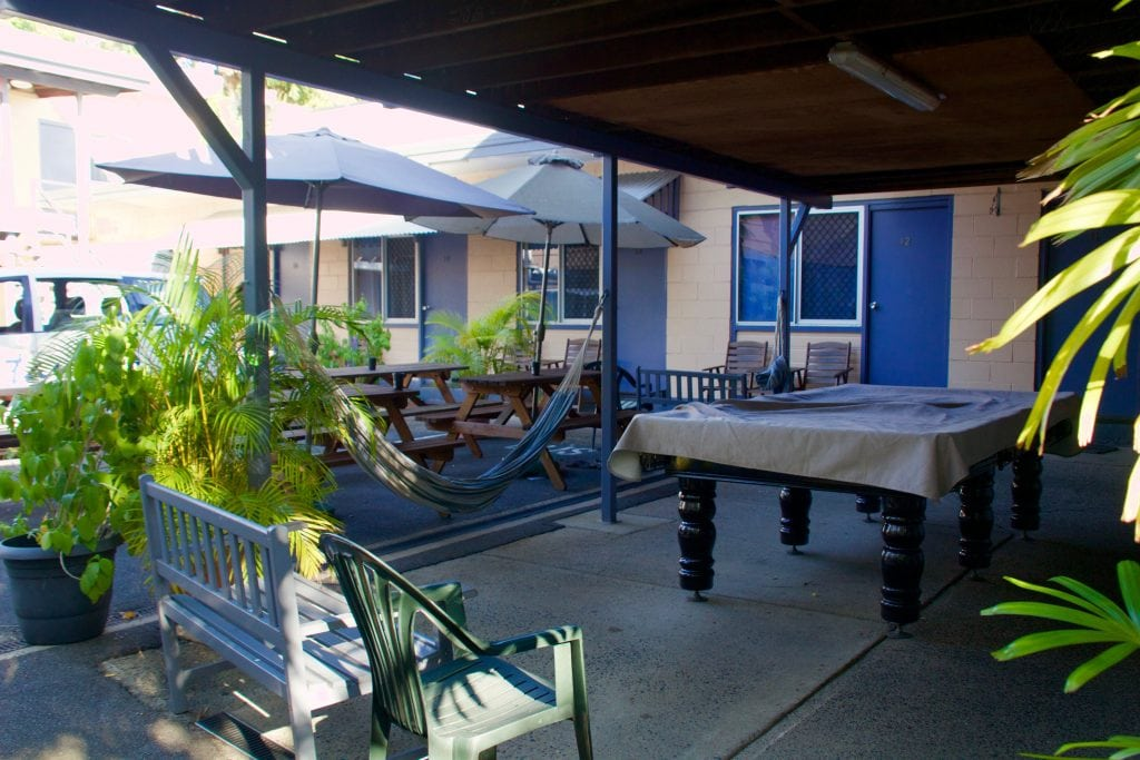 Cairns is Australia's known party town. If you're looking to avoid the drunks, but still want to keep to a budget, check out Castaway's Backpackers! Read more at www.thefivefoottraveler.com