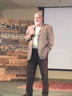 Donald T. Williams speaking at last year's apologetics conference