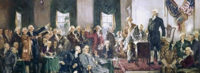 The Founding Fathers based  their laws on those of the self-evident Creator