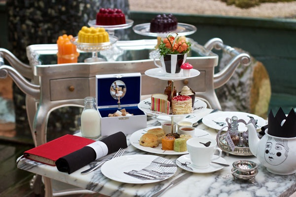 10 London Hotspots For Afternoon Tea