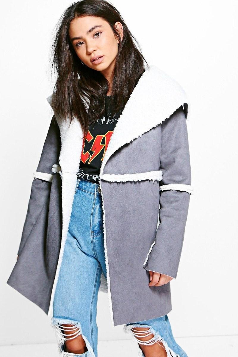 Les manteaux conforts | Le Shearling