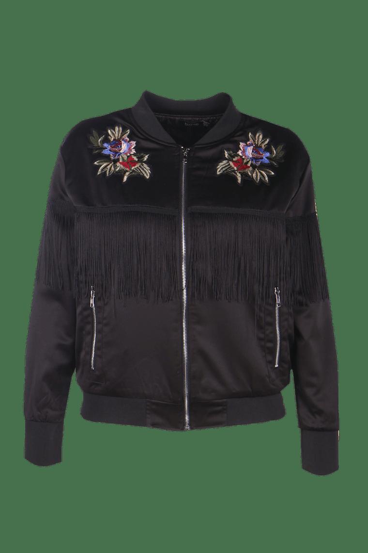 Plus Lara Floral Jacket >
