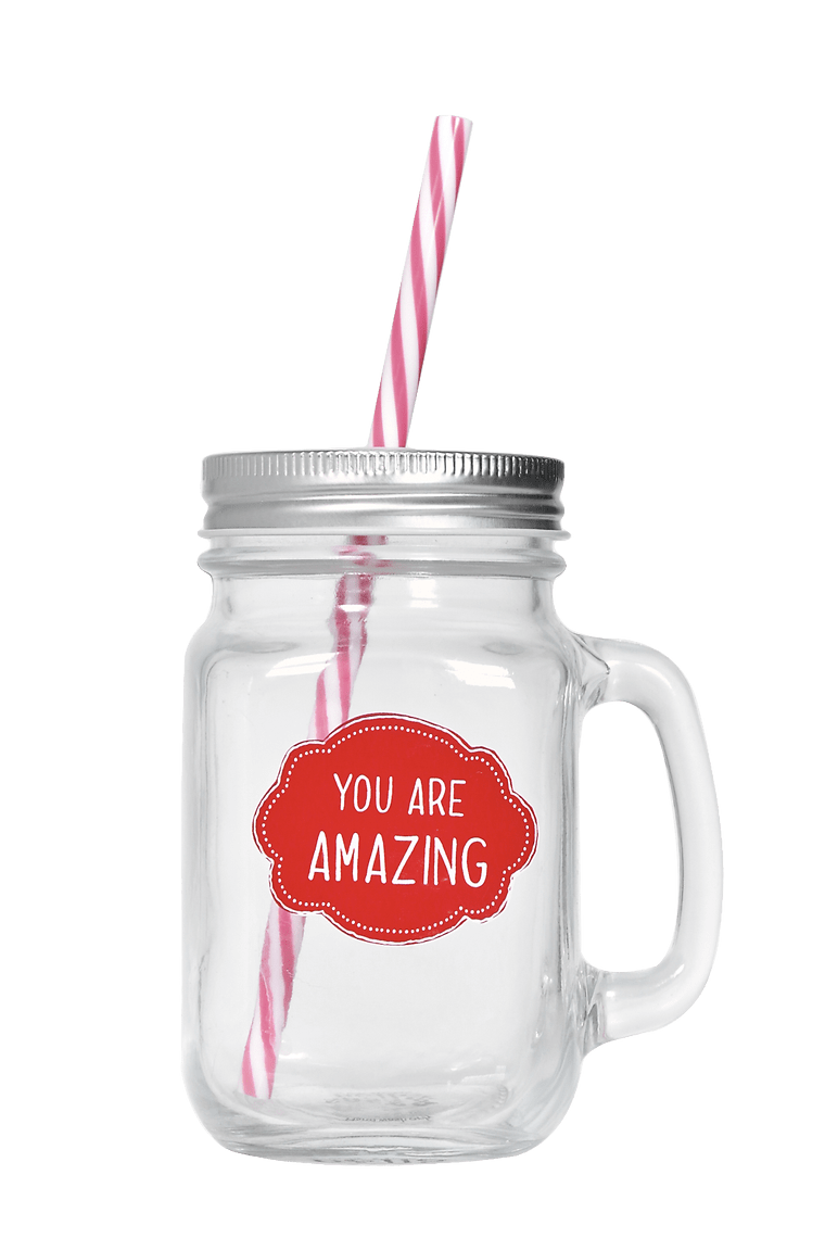 You Are Amazing Mason Jar