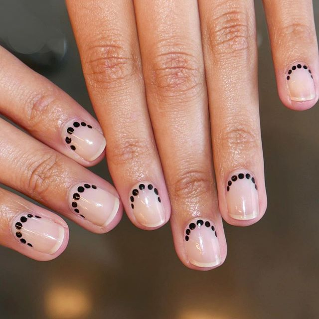 This Minimal Nail Art Is Giving Us All The Inspo The Fix