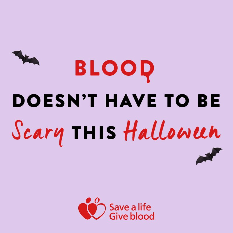 Dont Just Wear Blood This Year