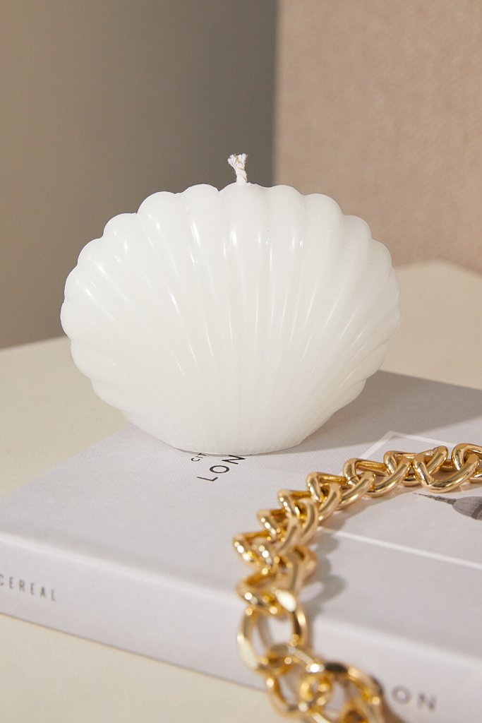 Home Décor Shell Candle