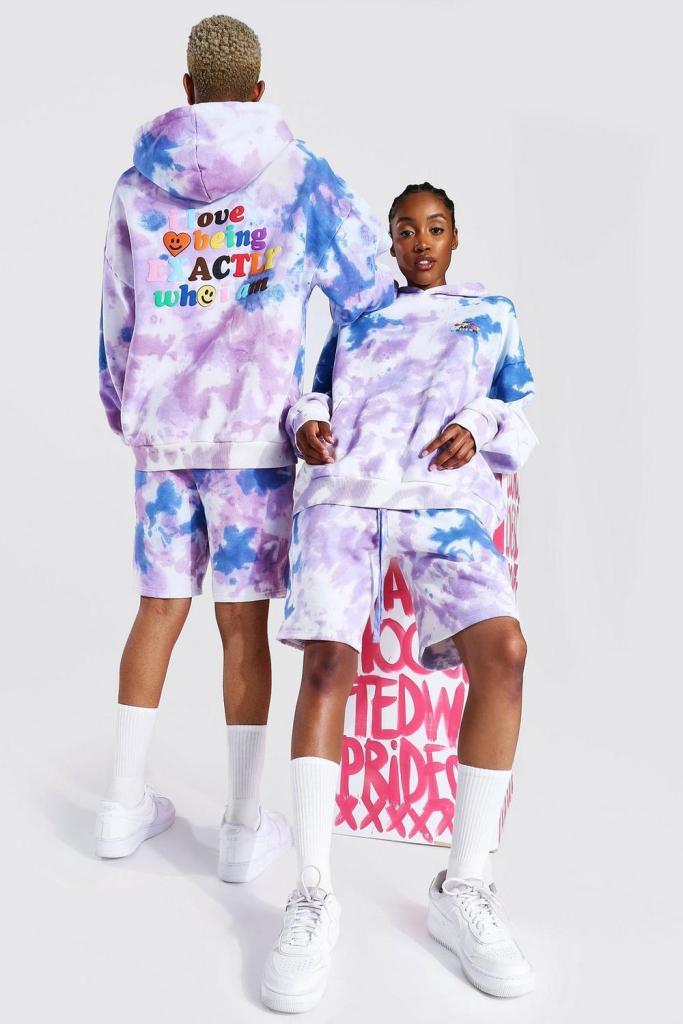 tie-dye pride outfit