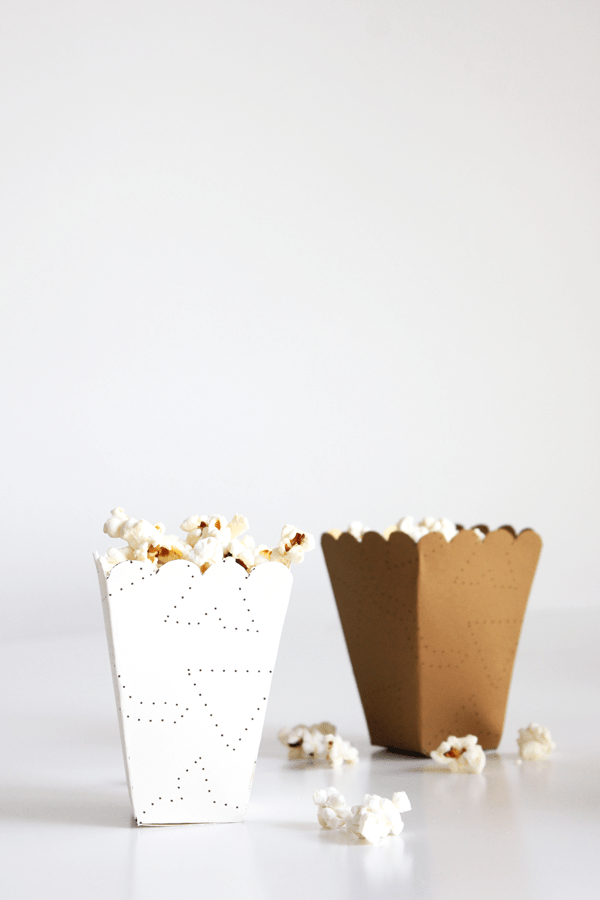 Free Popcorn Box Printable And Diy The Flair Exchange