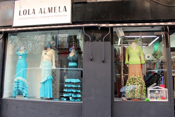 Flamenco shops in Madrid - dresses