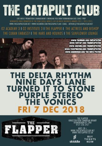 The Delta Rhythm + Nine Days Lane + Turned It To Stone + Purple Stereo + The Vonics