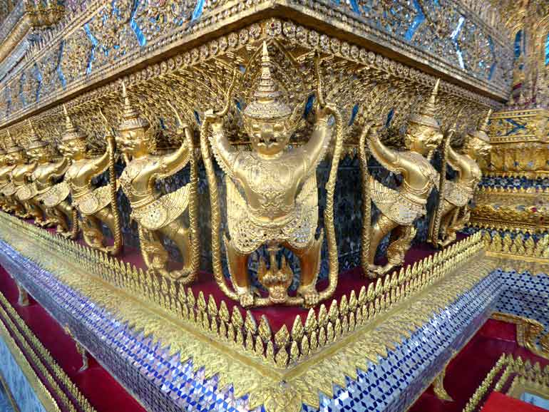 Exterior of the bot, Wat Phra Kaeo