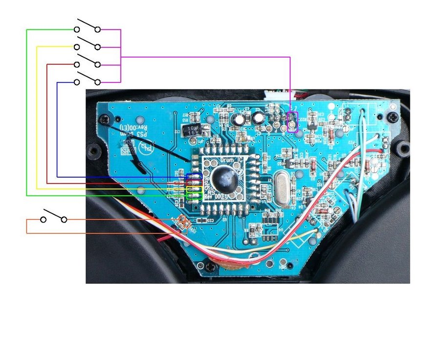 yamaha guitar wiring diagram lewis dot for bromine playing rock band with a dtxplorer (how-to)   the flash speaks